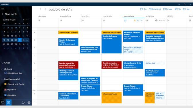 Calendario Outlook.Baixar Email E Calendario Microsoft Store Pt Br