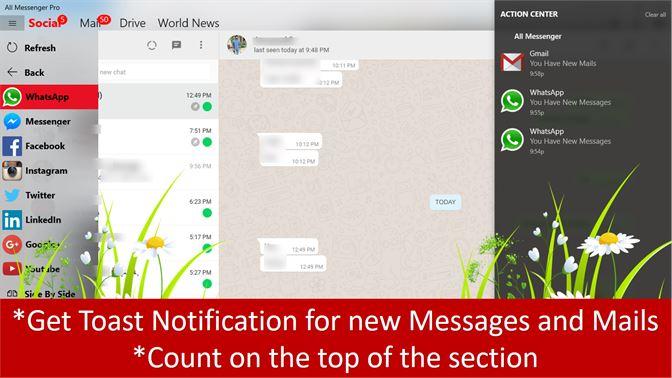 Get All Messenger : Social,Mails,Drives - Microsoft Store en-GB