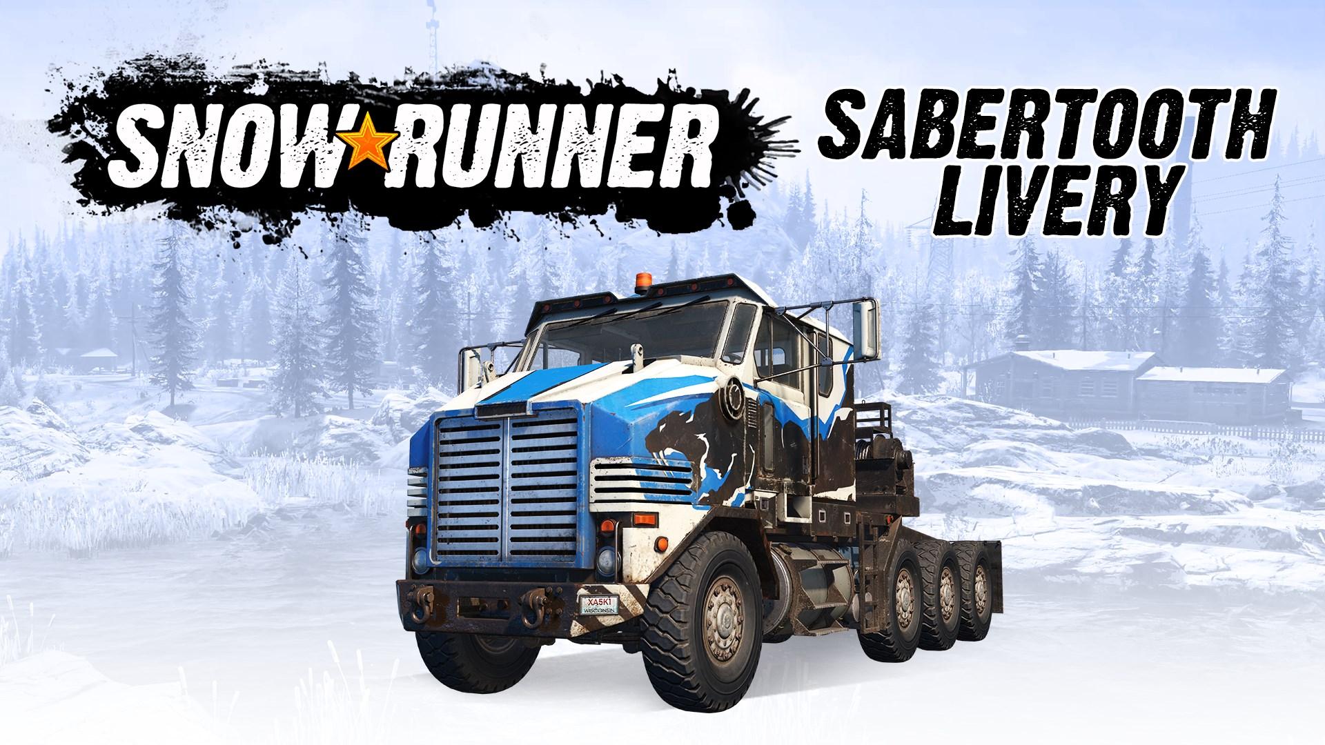 Скриншот №6 к SnowRunner - Derry Longhorn 4520 Sabertooth Livery