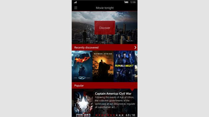 Get Movie Tonight - Microsoft Store