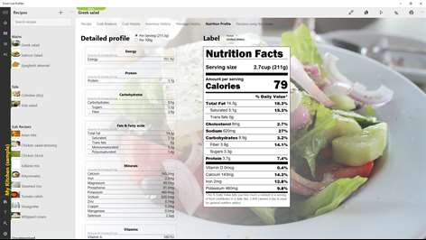 Food Cost Profiler Screenshots 2