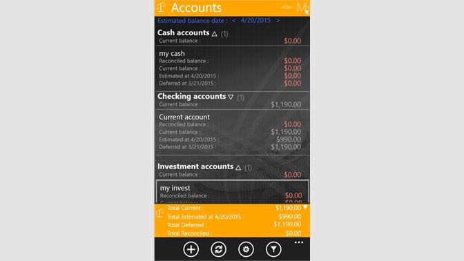 Buy Bank Account Manager - Microsoft Store