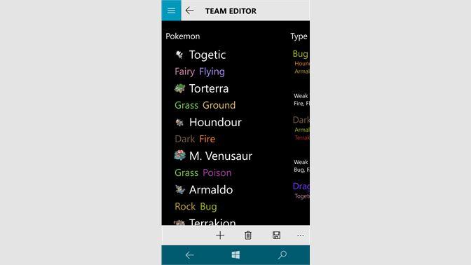 Get Pokemon Team Builder Microsoft Store
