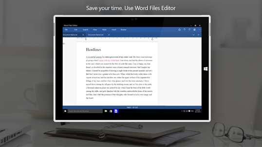 Word Files Editor screenshot 1