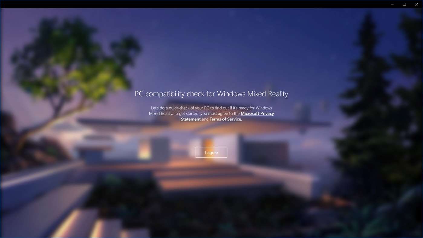 New, more stylish Windows Mixed Reality PC Check app shows up in the store 2