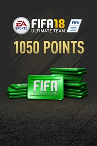 1050 FIFA 18 Points Pack