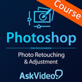 Photo Retouching & Adjustments Course for Photoshop CC