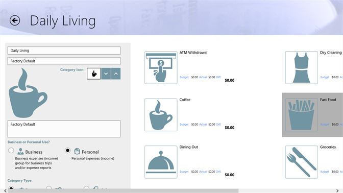 get easy expense tracker microsoft store