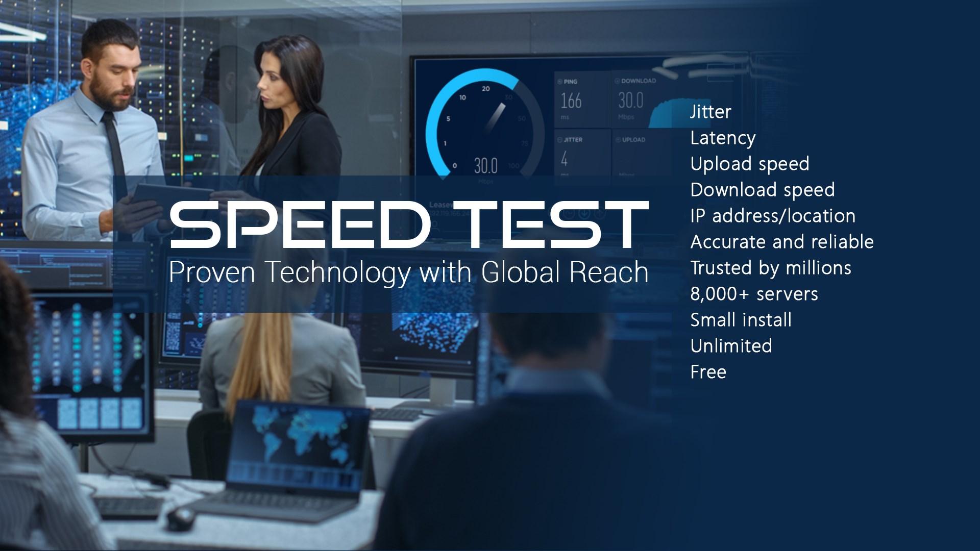 Get Speed Test - Free Internet Speed Test Tools - Microsoft Store