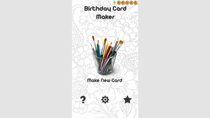 Birthday Cards Maker Beziehen Microsoft Store De DE