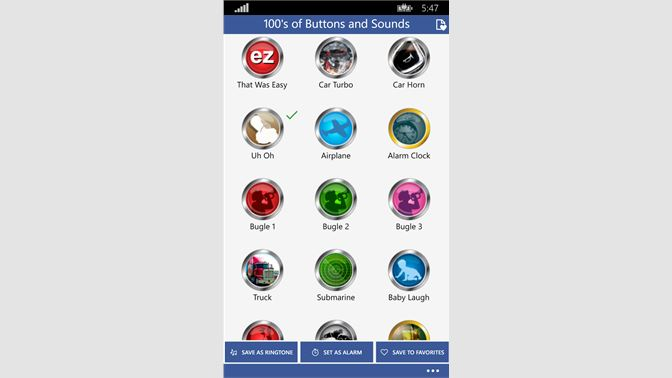 Get 100's of Buttons and Sounds - Microsoft Store