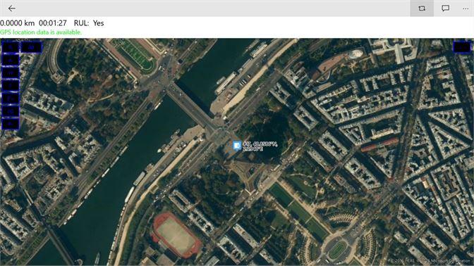 screenshot windows 10 gps satellite tracking screenshot windows 10 at the eiffel tower tracking