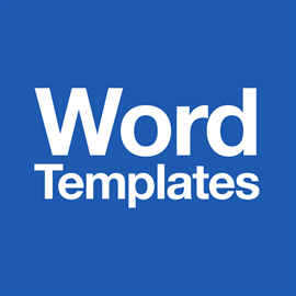Templates for Microsoft Word