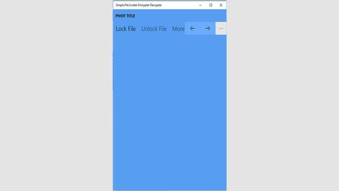 Get Simple File Locker Ecnrypt/Decrypter - Microsoft Store