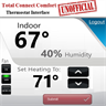Total Connect Comfort Thermostat