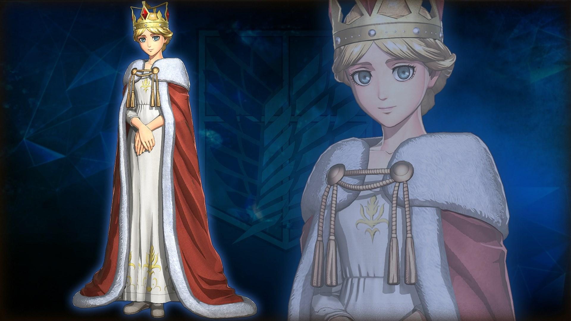 "A.O.T. 2: FB Additional costume for Christa ""Queen Historia"" Costume"