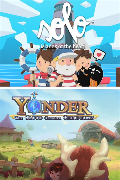 Solo: Islands of the Heart & Yonder: The Cloud Catcher Chronicles
