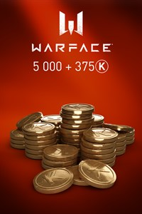 Warface - 5000 Kredits