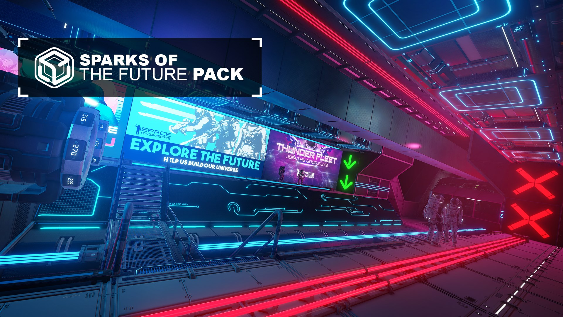 Space Engineers: Sparks of the Future Pack