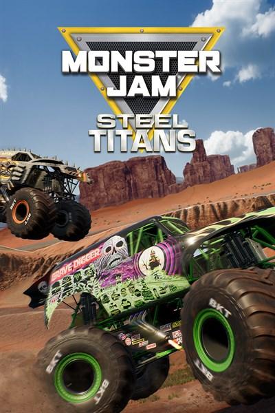 Monster Jam Steel Titans Pre order