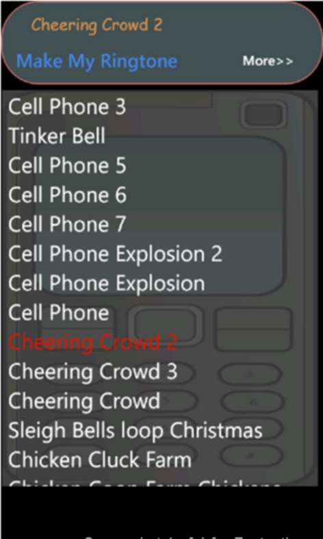 Fantastic Ringtones Screenshots 1