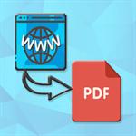 Webpage to PDF Pro Logo