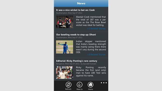 yahoo cricket live score cricbuzz