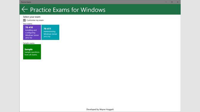 Get Practice Exams - Microsoft Store