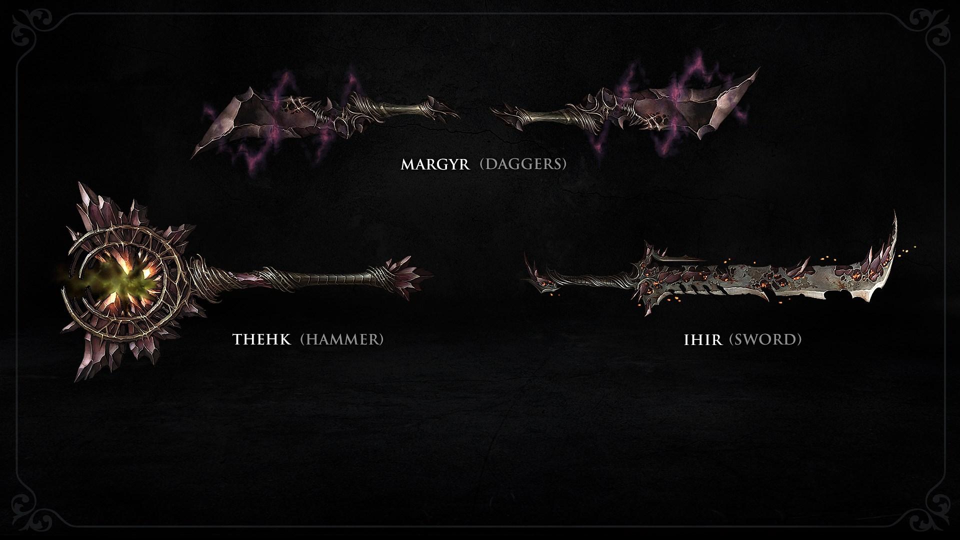 Pacote de Armas Demoníacas