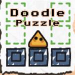 Doodle Puzzle Logo