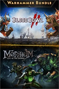 Carátula para el juego Warhammer Bundle: Mordheim and Blood Bowl 2 de Xbox One