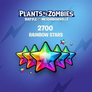Plants vs. Zombies: Battle for Neighborville™ – 2500 (+200 Bonus) Rainbow Stars Xbox One