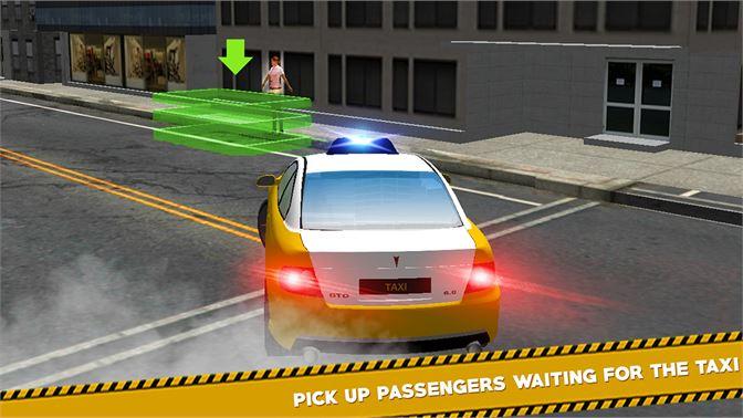 Get Airport Taxi Crazy Drive 3D - City Pick & Drop Sim