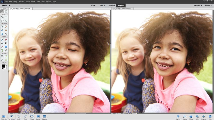 Adobe Photoshop Elements 2018 Screenshot