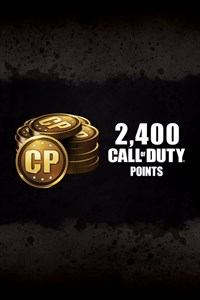 2,400 Call of Duty®: Black Ops III Points