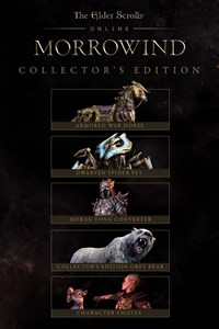 The Elder Scrolls Online: Morrowind Collector's Edition Pack