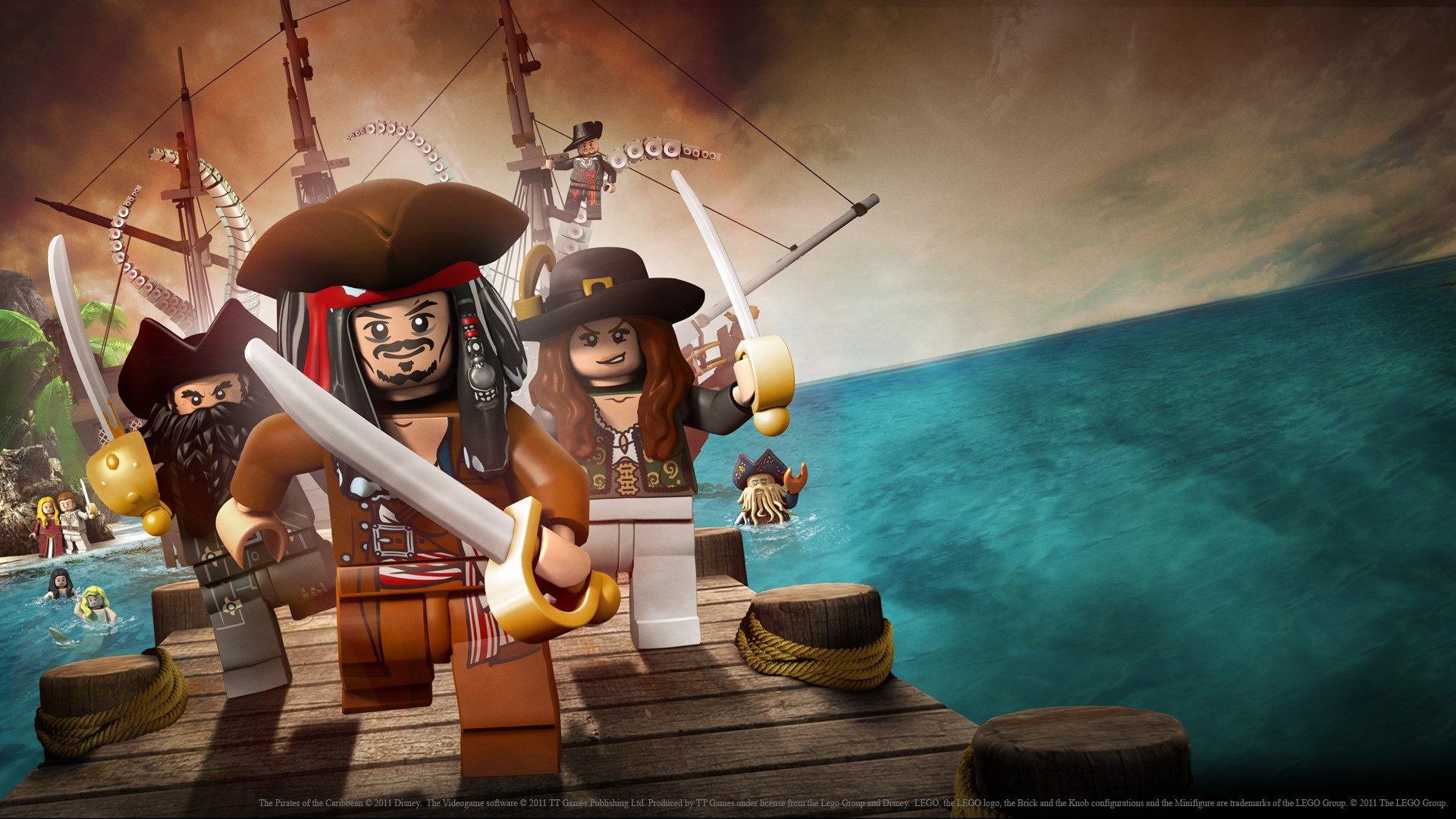 Buy Lego Pirates Of The Caribbean The Video Game Microsoft Store