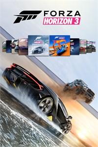 Carátula para el juego FH3 Platinum Plus Expansions Bundle de Xbox 360