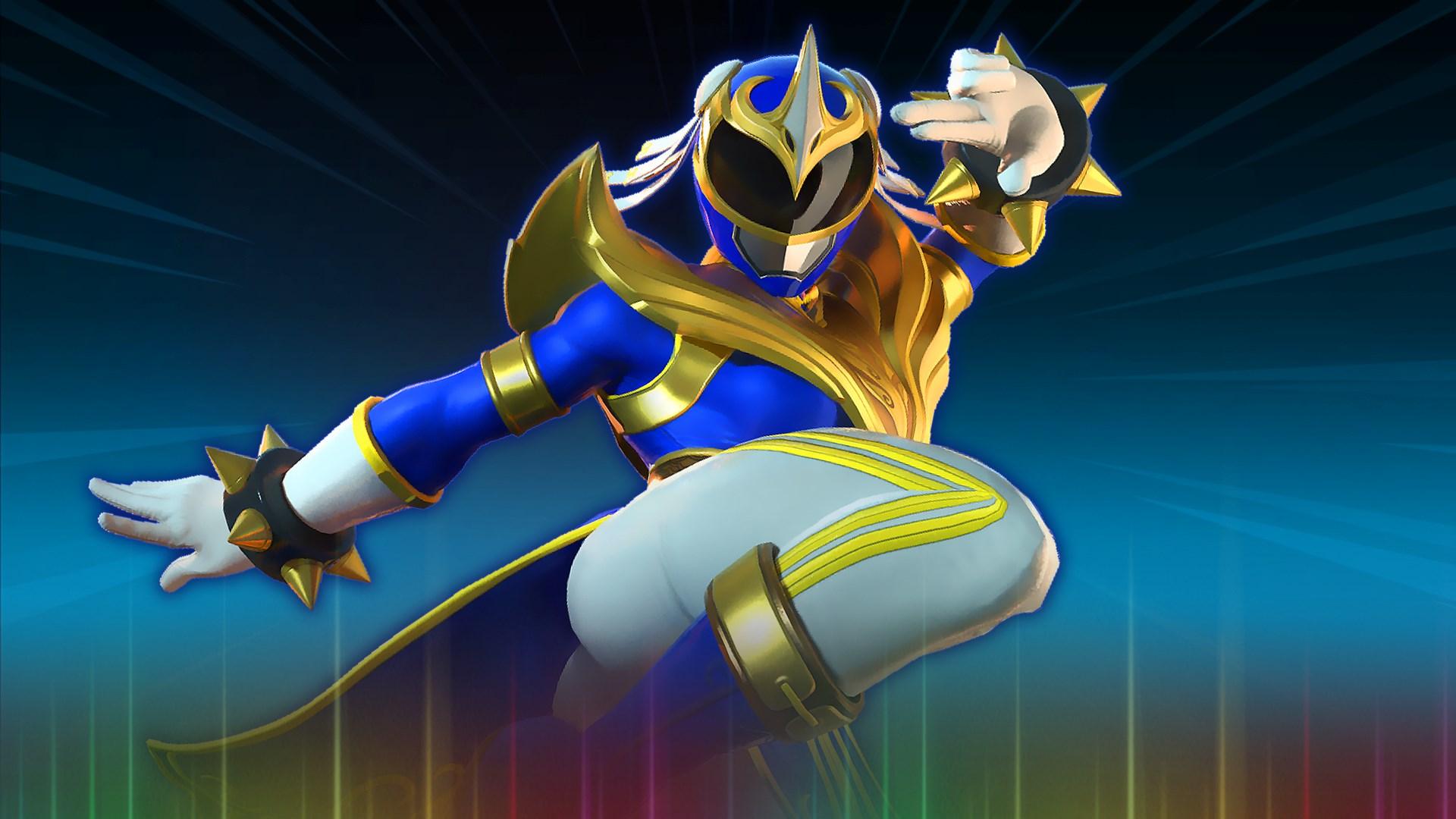 Chun-Li - Blue Phoenix Ranger Character Unlock