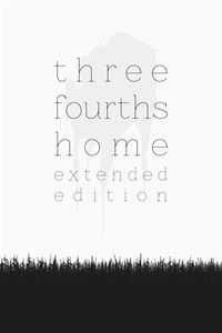 Carátula del juego Three Fourths Home: Extended Edition