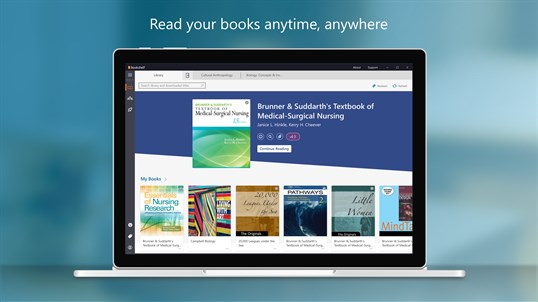 VitalSource Bookshelf screenshot