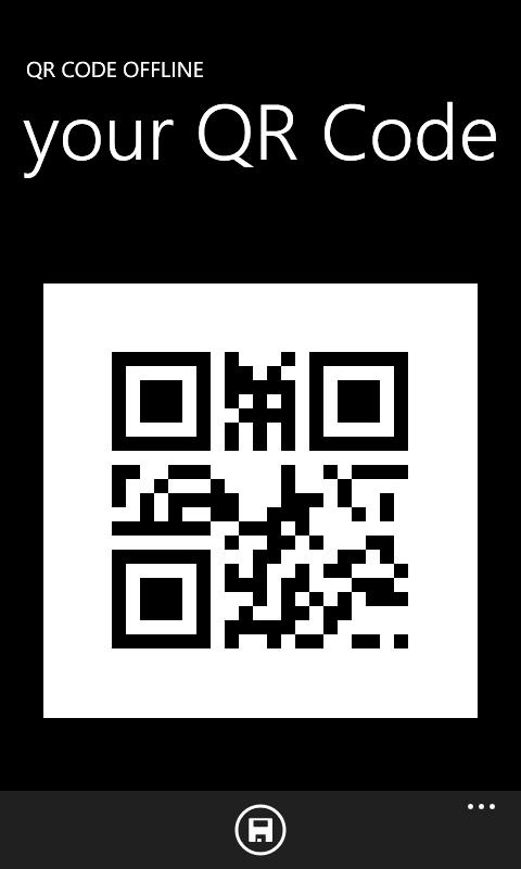 QR Code Offline