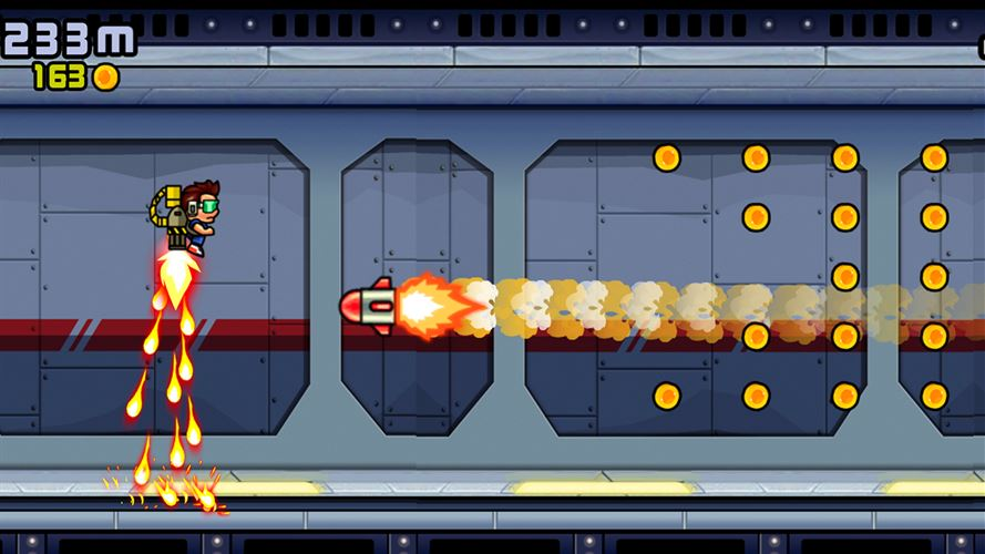Jetpack Rider Screenshot