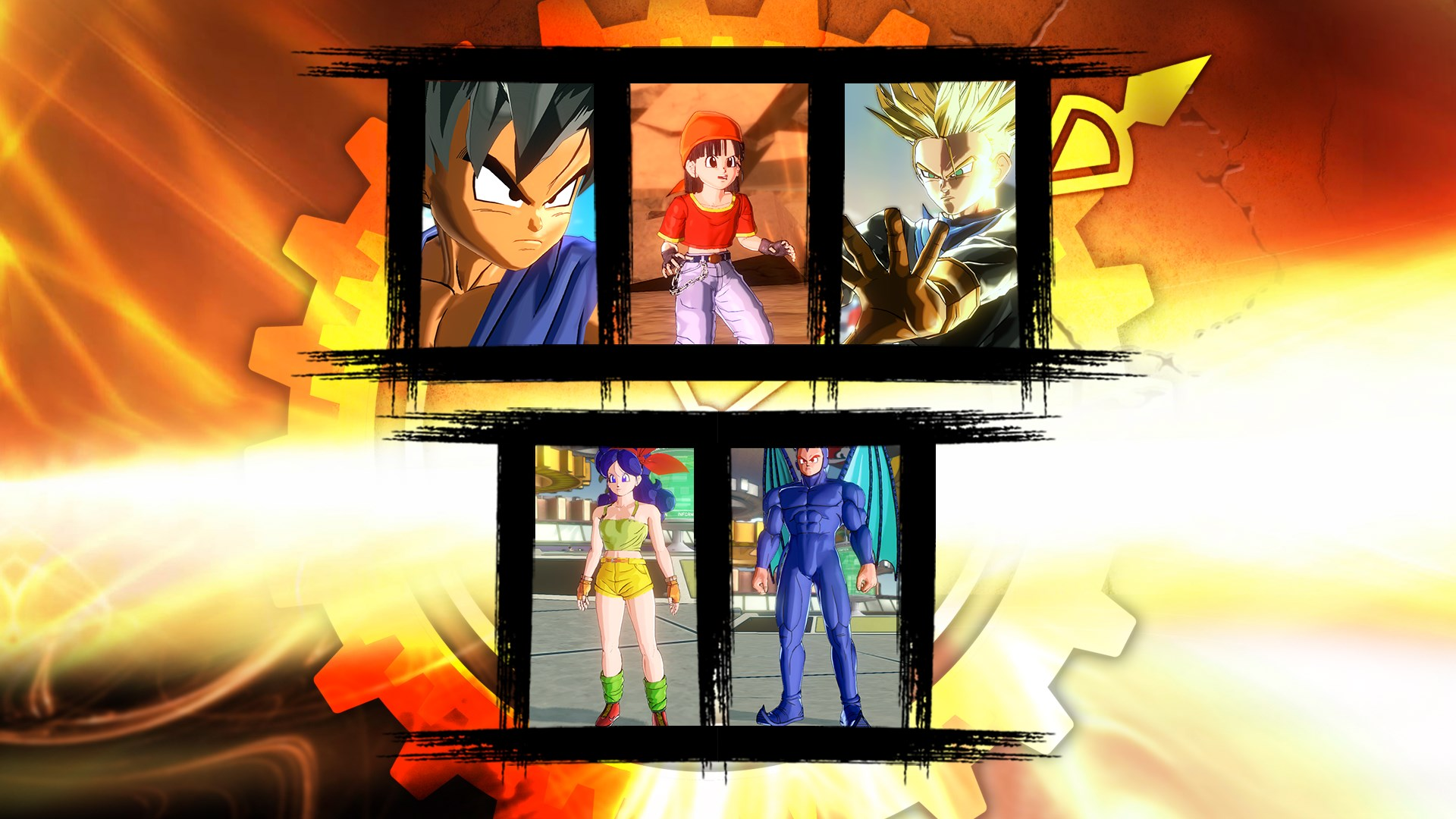 Dragon Ball Xenoverse - PAKIET GT 1