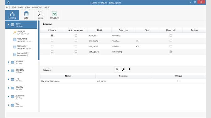 Buy SQLPro for SQLite - Microsoft Store