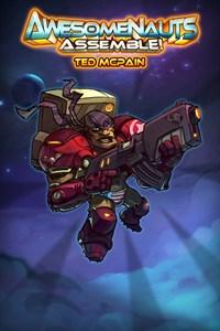 Carátula del juego Ted McPain - Awesomenauts Assemble! Character