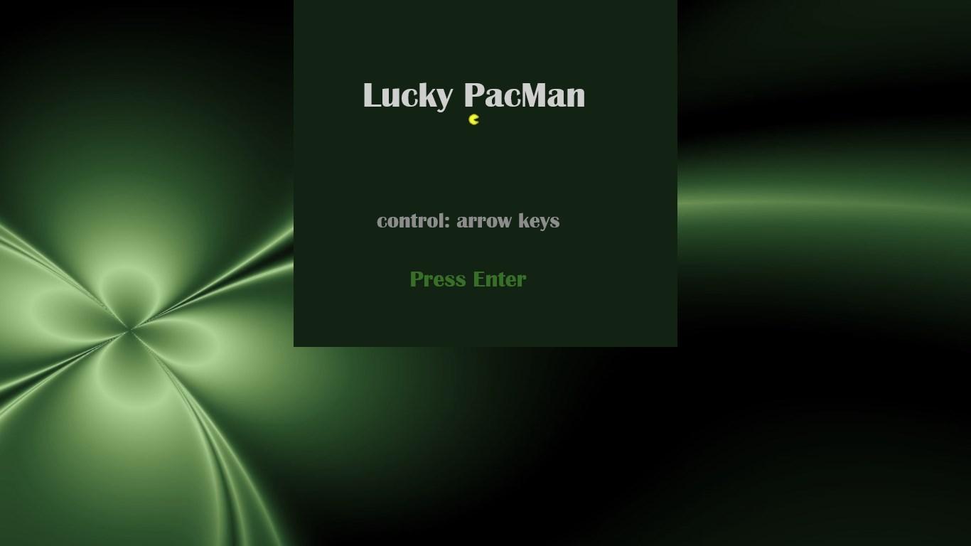 Lucky PacMan