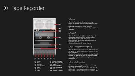 Tape Recorder Screenshots 2