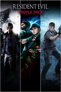 Carátula del juego Resident Evil Triple Pack