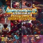 Fully Loaded Collector's Pack - Awesomenauts Assemble! Game Bundle Logo